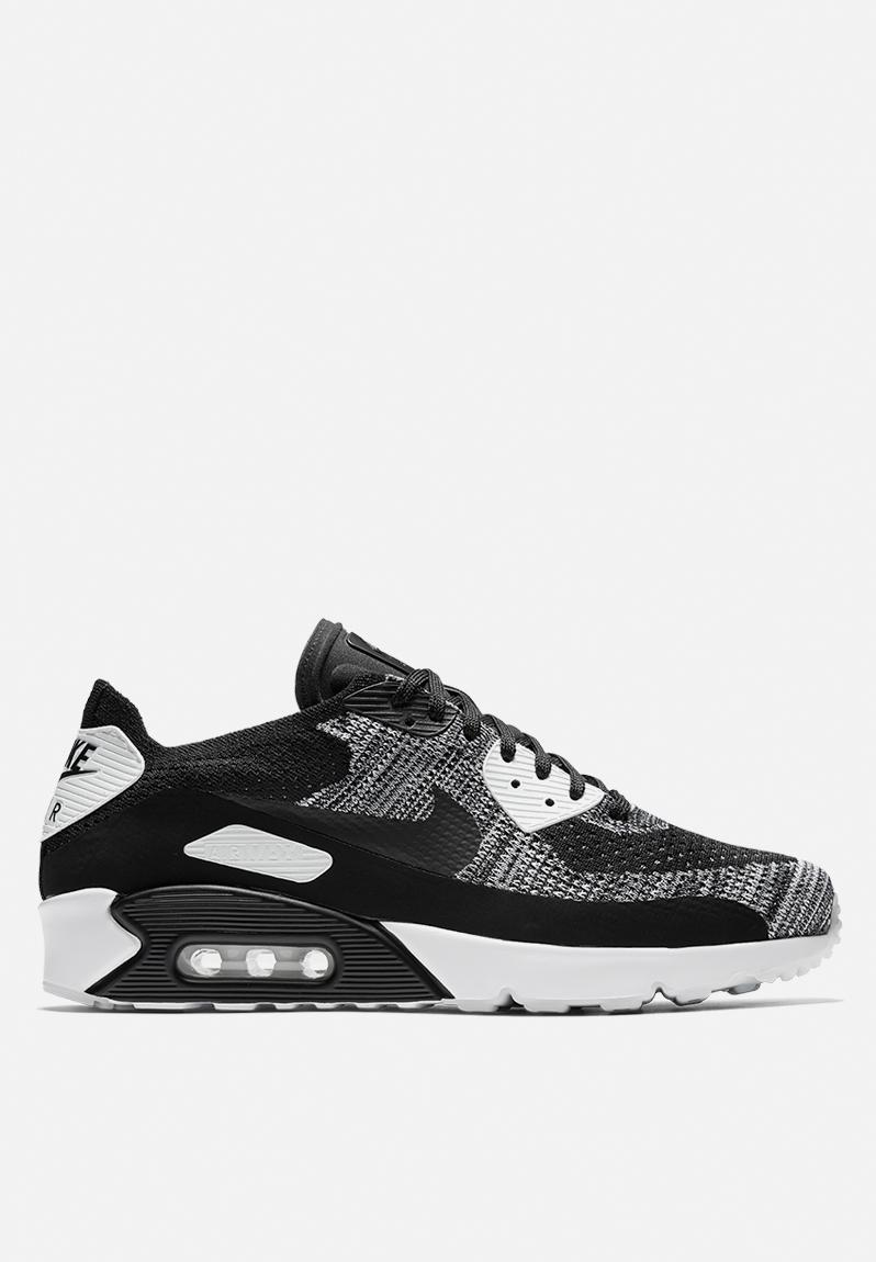 3613bea2d2 Nike Air Max 90 Ultra 2.0 Flyknit - 875943-001 - Black   Black   White Nike  Sneakers