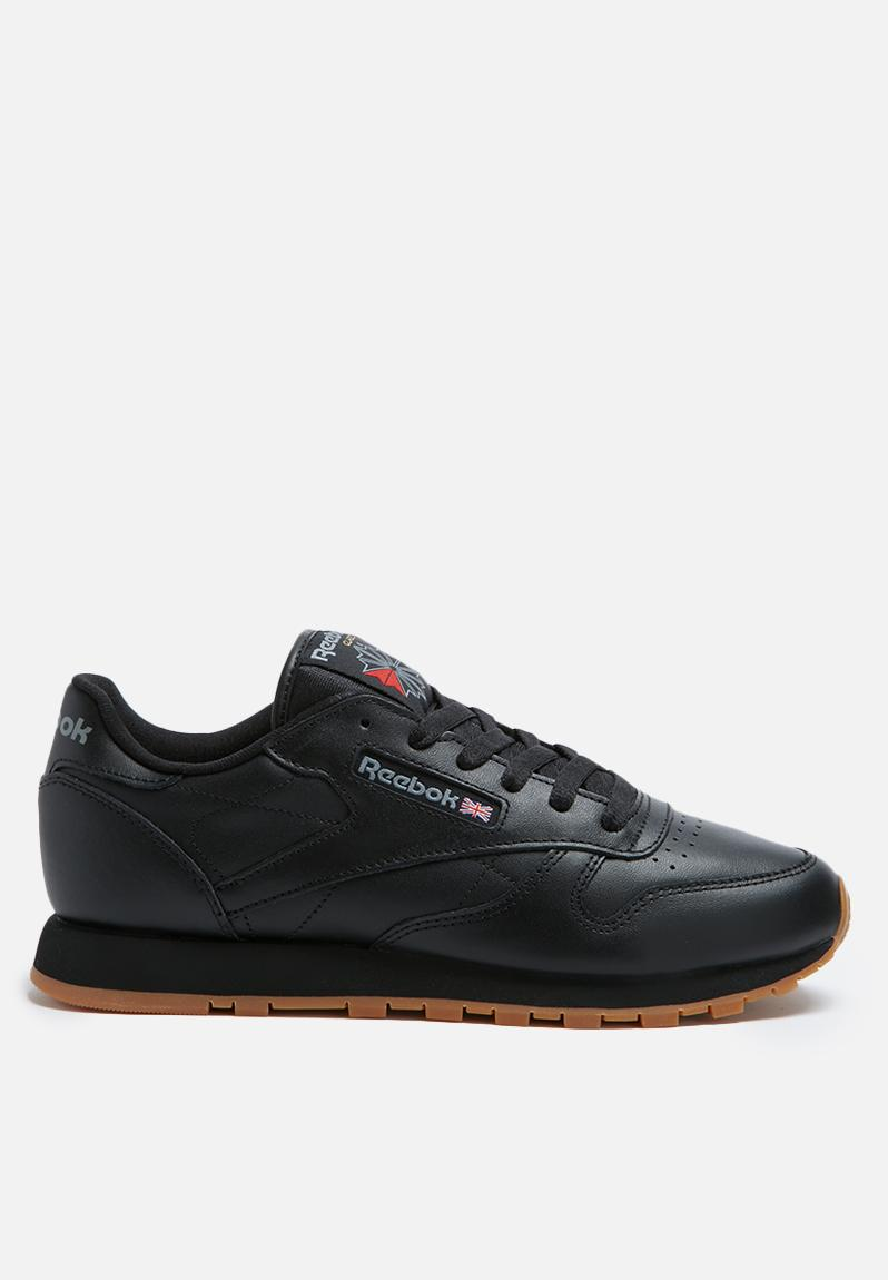 24c347bdeb8 Reebok Classic Leather Shoes - Black