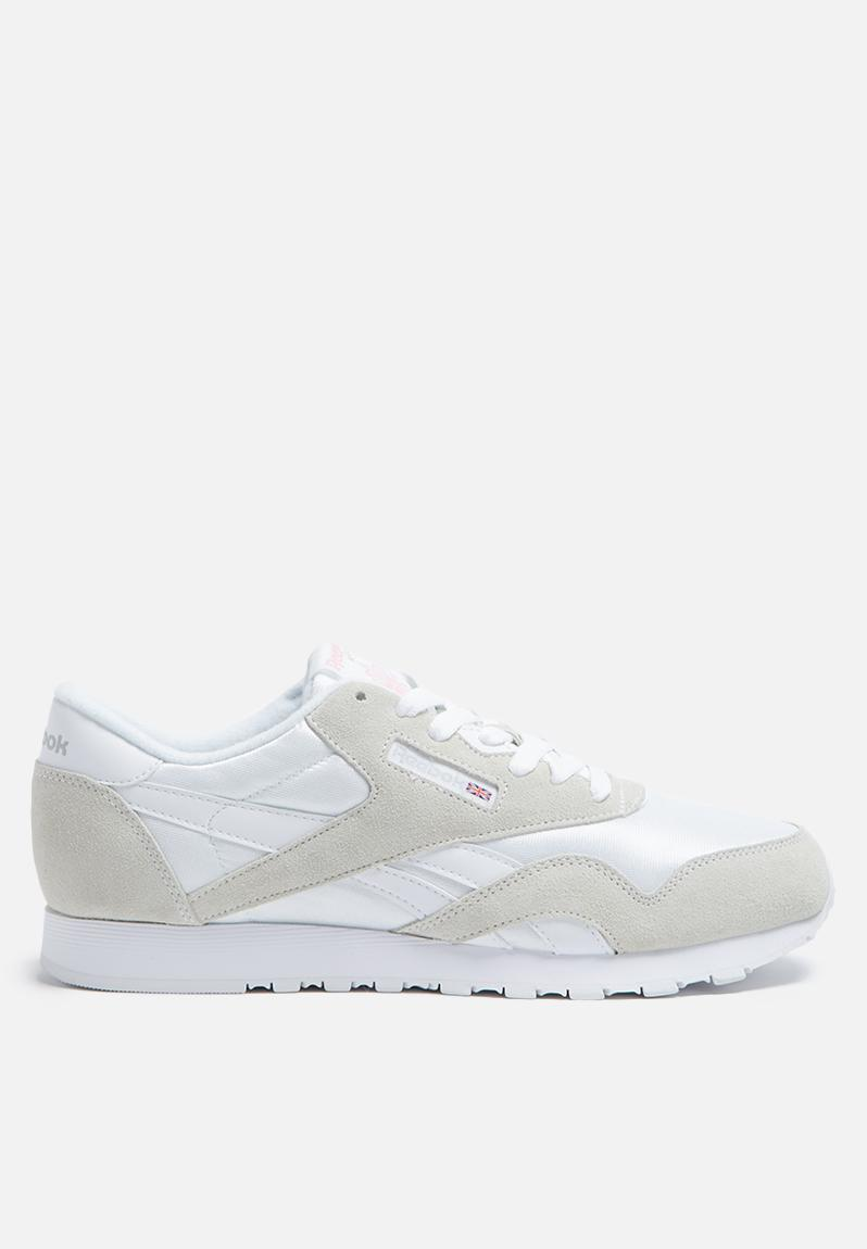 competitive price 7d74a c5dde Reebok Classic Nylon Foundation - 6394 - White Light Grey Reebok Classic  Sneakers   Superbalist.com