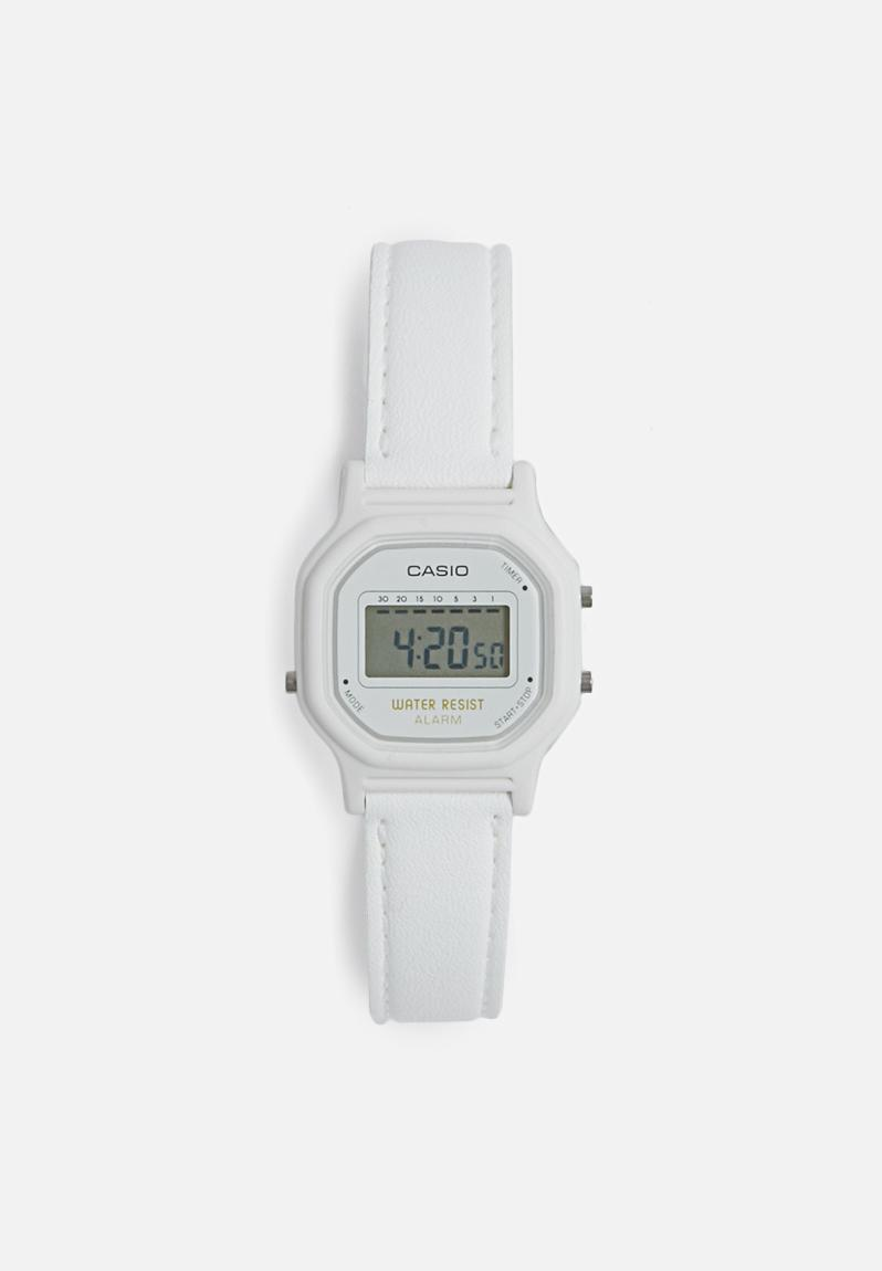 digital wrist watch white casio watches superbalistcom