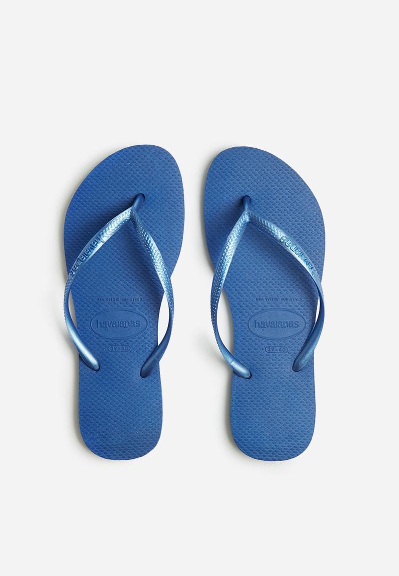 b7858bc10 Slim - light blue Havaianas Sandals   Flip Flops