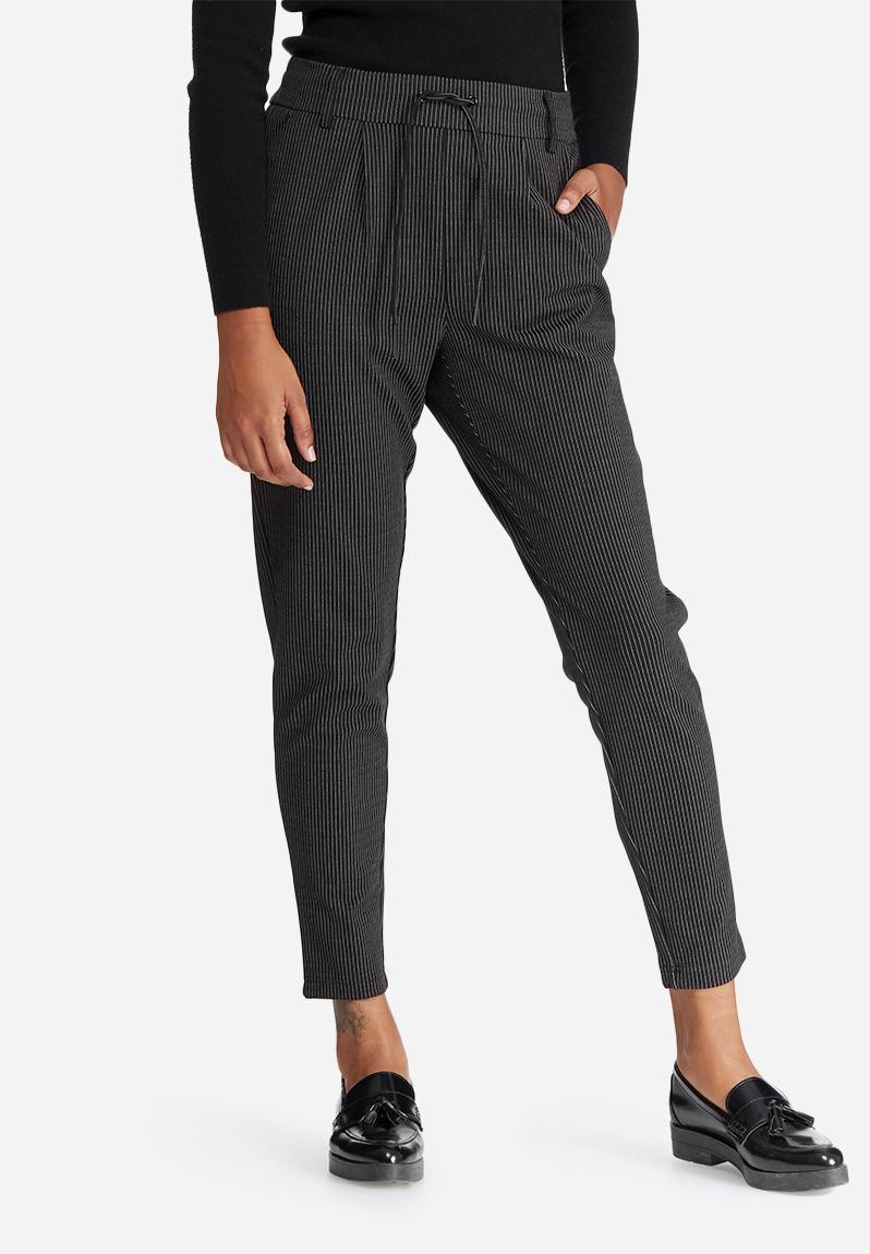 Choose from a variety of pinstripe pants made from fine fabrics that are perfectly crafted for a flattering look. Skip Navigation: Skip to: Top Navigation, Shopping Bag, Main Content, Footer Navigation.
