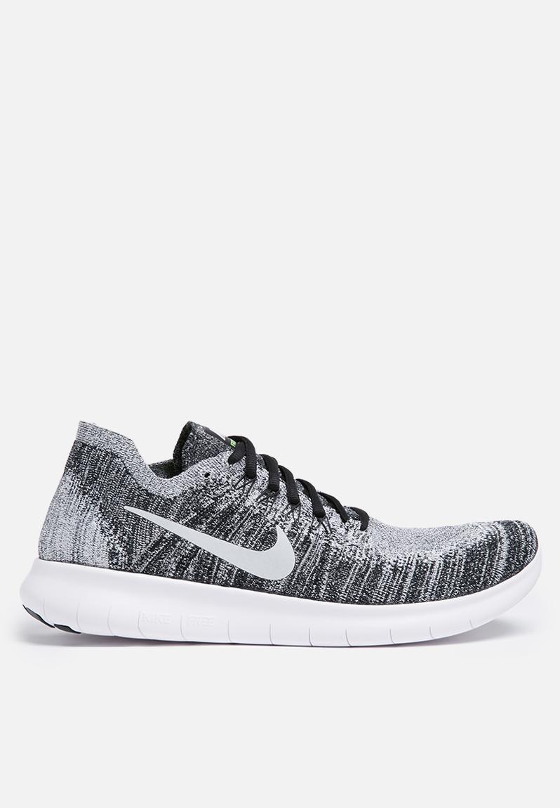 6e50748c4322 Nike Free Rn Flyknit 2 - 880843-003 - Black   White   Volt Nike Trainers