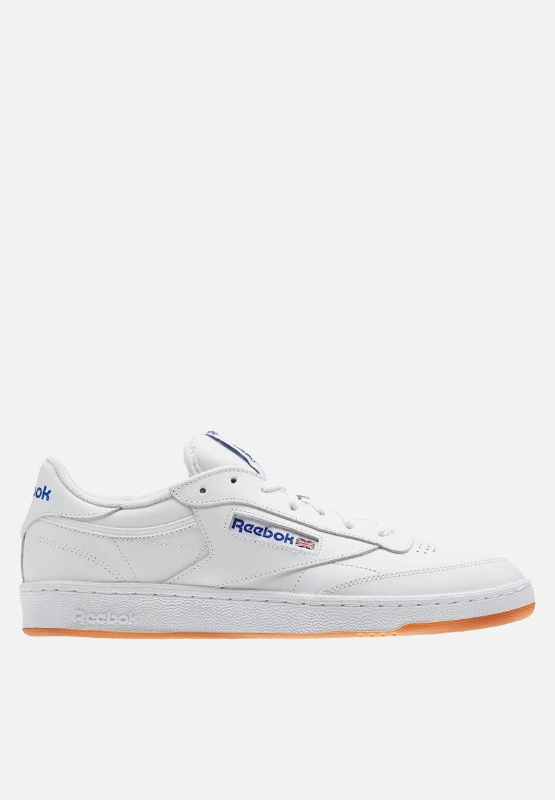 ef3d3364be2 Reebok Club C 85 Foundation - AR0459 - White Royal Gum Reebok Classic  Sneakers