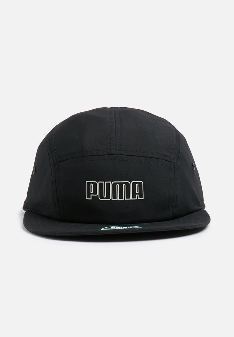 936484494cd Archive 5 panels cap-black PUMA Headwear