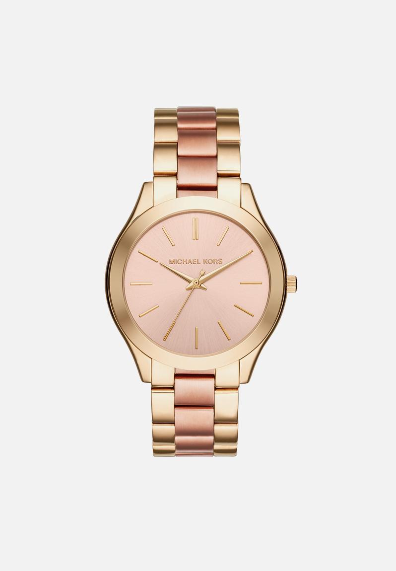 ca8c0765d37d Slim runway-MK3493-gold rose Michael Kors Watches