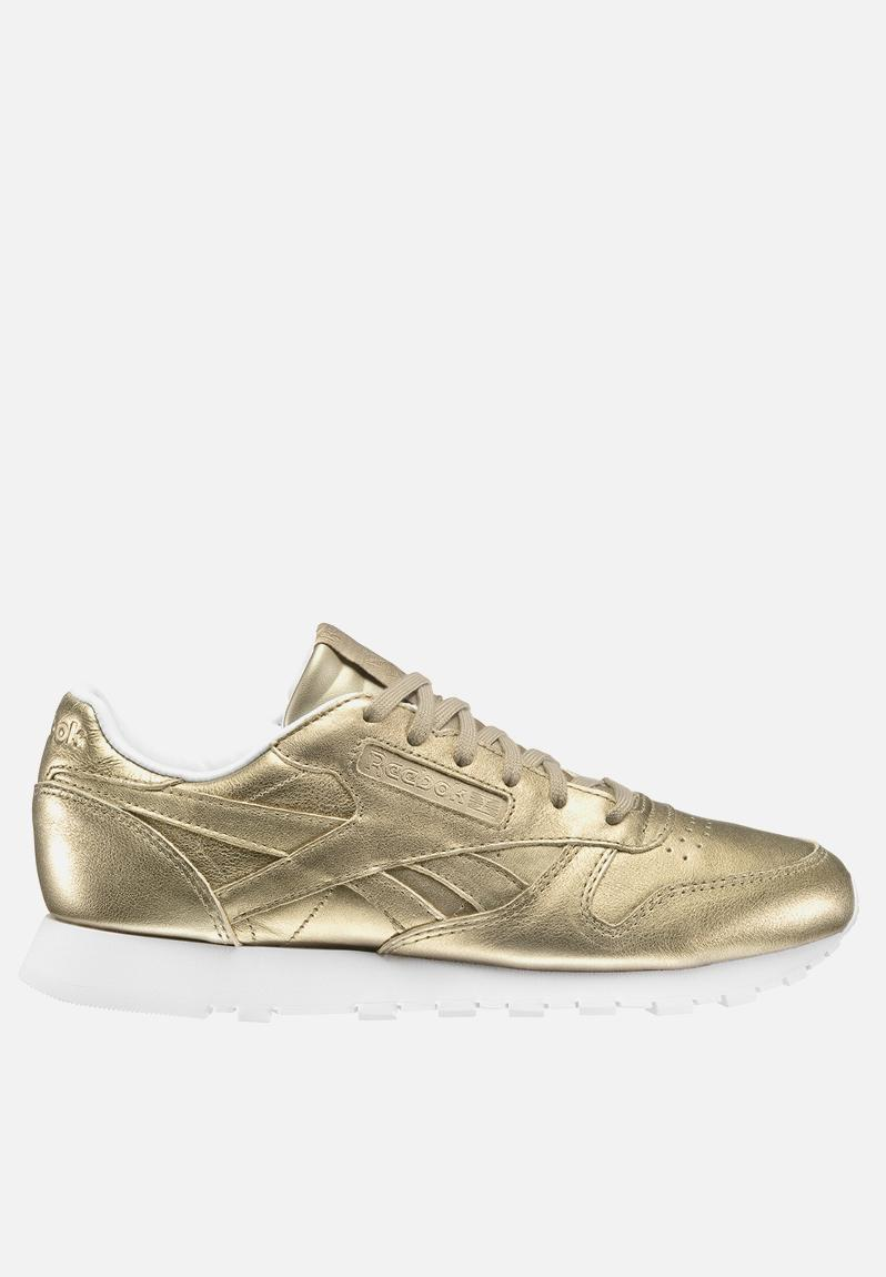 c48ff47d253e Reebok Classic Leather - BS7898 - Pearl met   Gold Reebok Classic Sneakers
