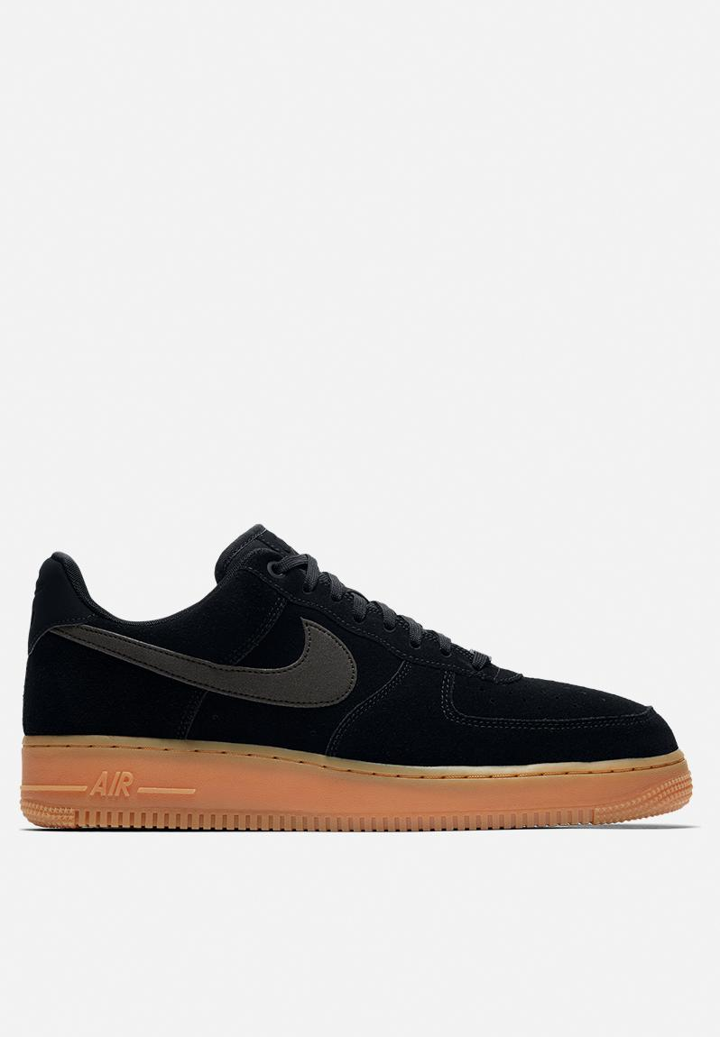 reputable site 3a04f 99d7c Nike Air Force 1  07 LV8 Suede - AA1117-001 - Black   Black gum  Brown Nike  Sneakers   Superbalist.com