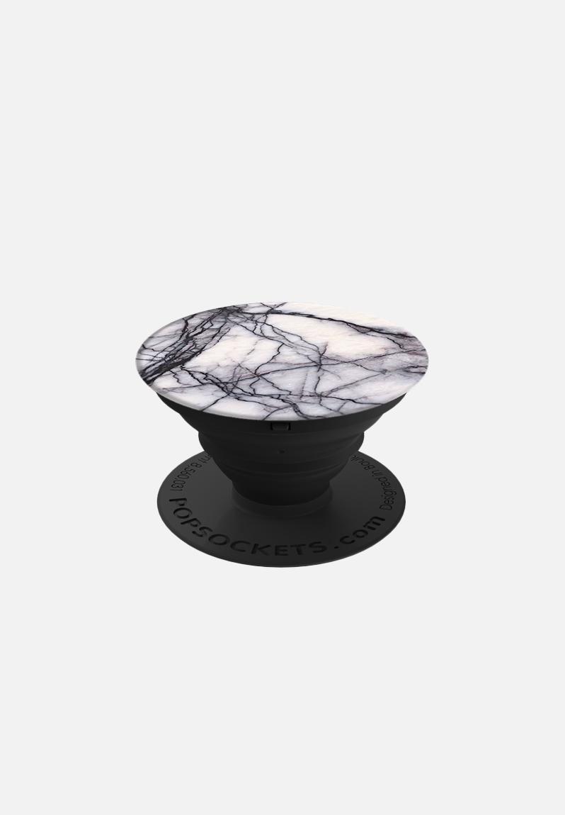 White Marble Popsocket Popsockets Phone Accessories