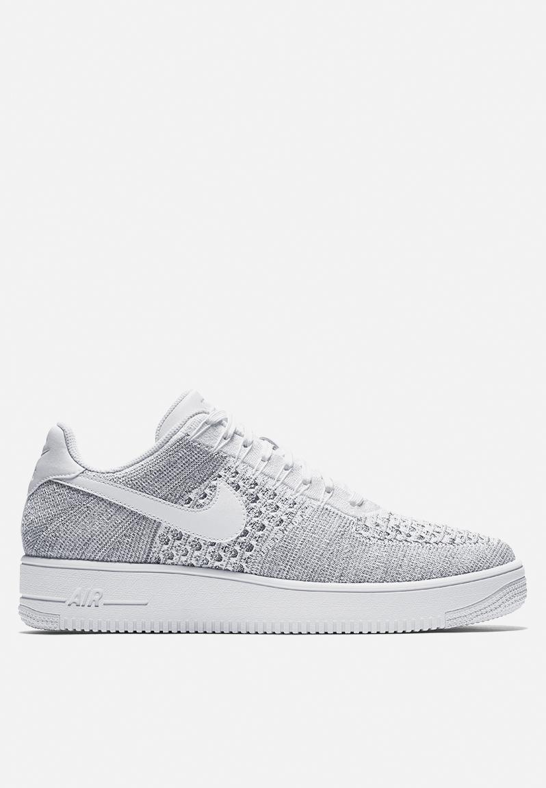 d3641a9faac5 Nike Air Force 1 Ultra Flyknit Low - 817419-006 - Cool Grey   White Nike  Sneakers