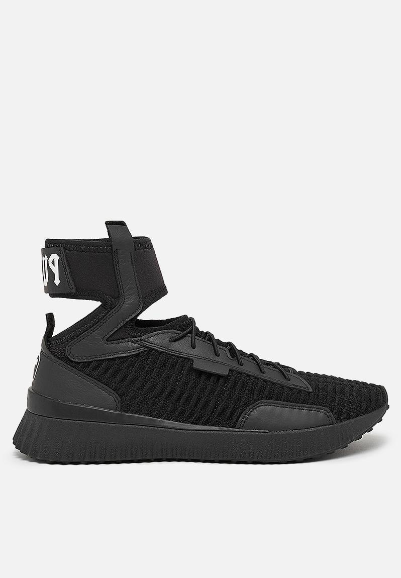 e62abe217 PUMA Select Fenty Trainer Mid - Puma black White PUMA Select ...