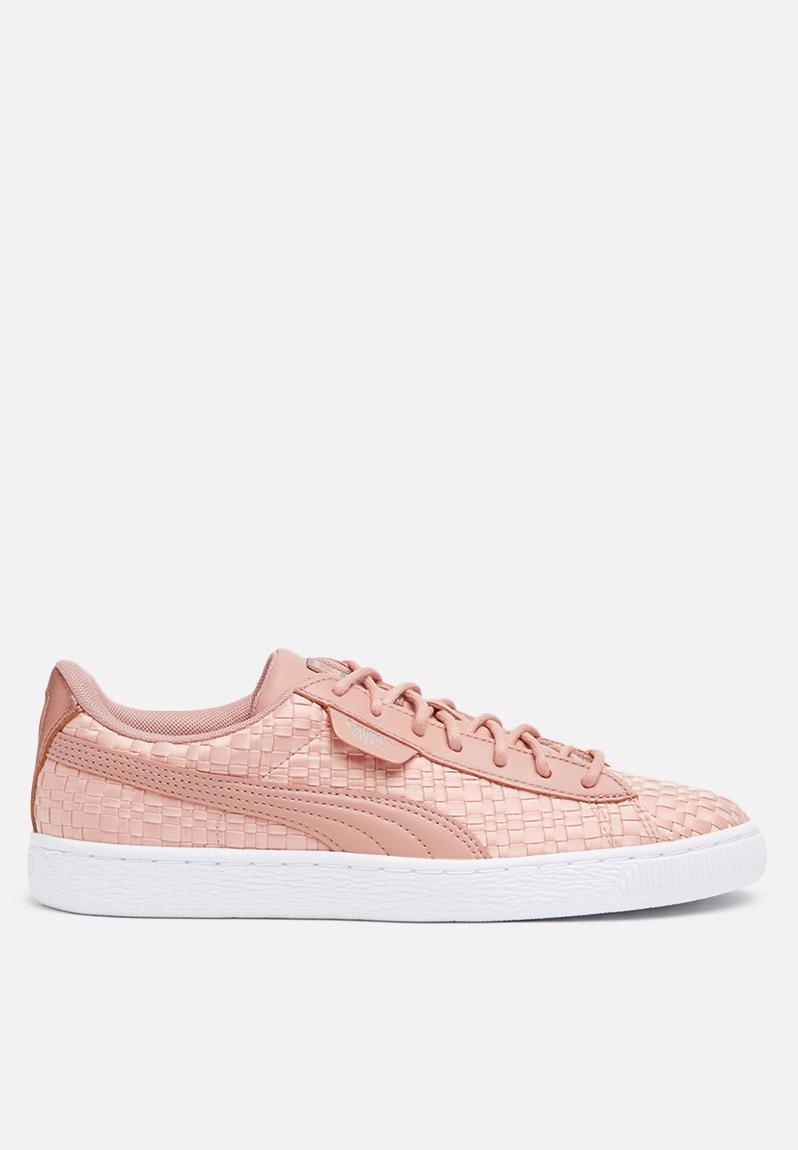 Basket Puma White PUMA Peach EP Beige Satin Sneakers Fqw4Ir7Ffx