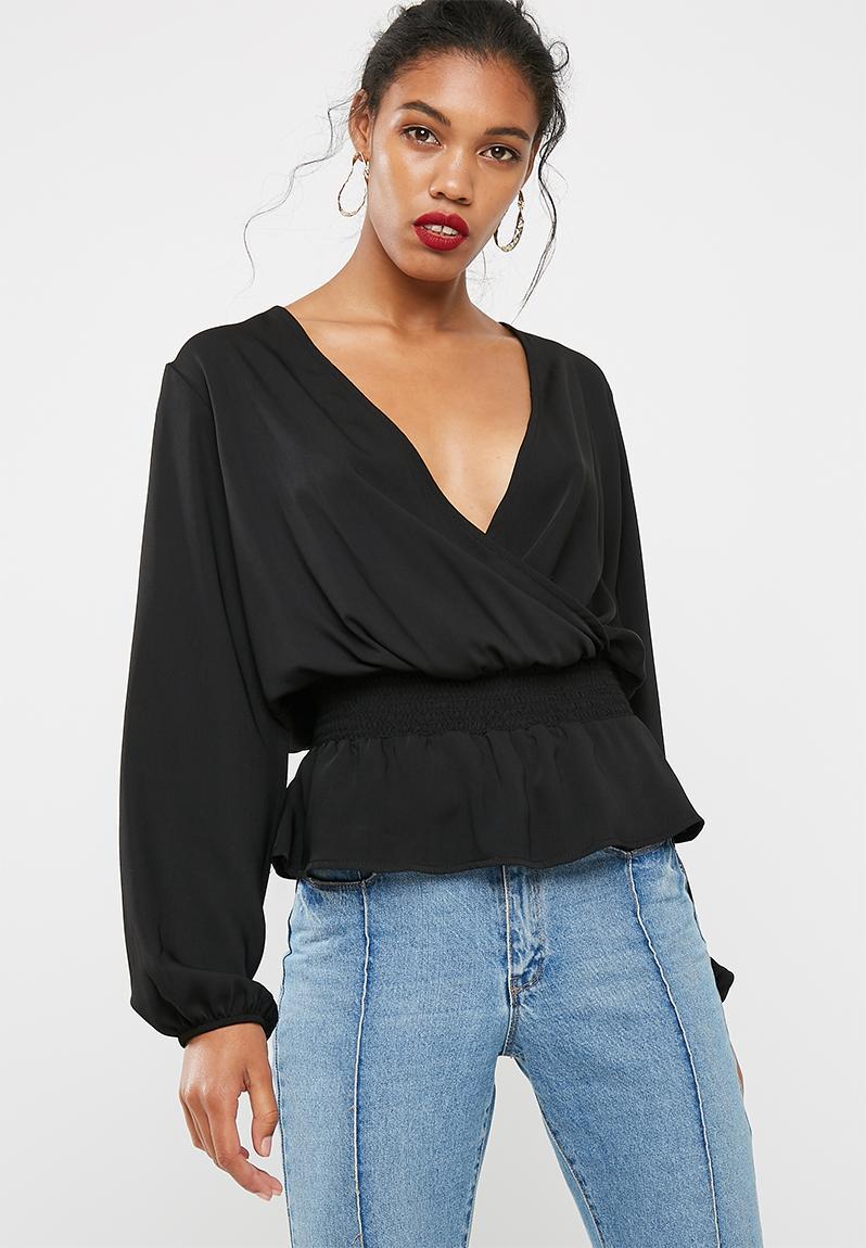 Oversized blouse - plus size - peach STYLE REPUBLIC PLUS