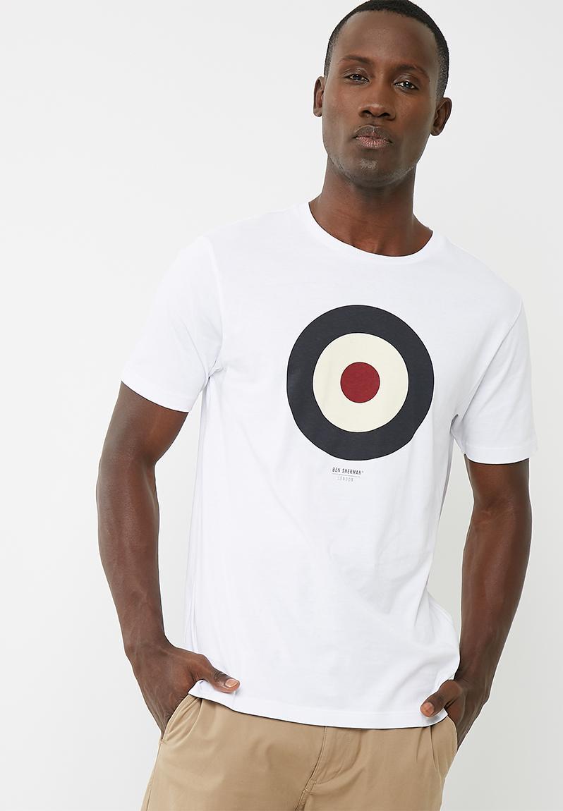 Sympton Amanecer Solo haz  Target tee - White Ben Sherman Men   Superbalist.com