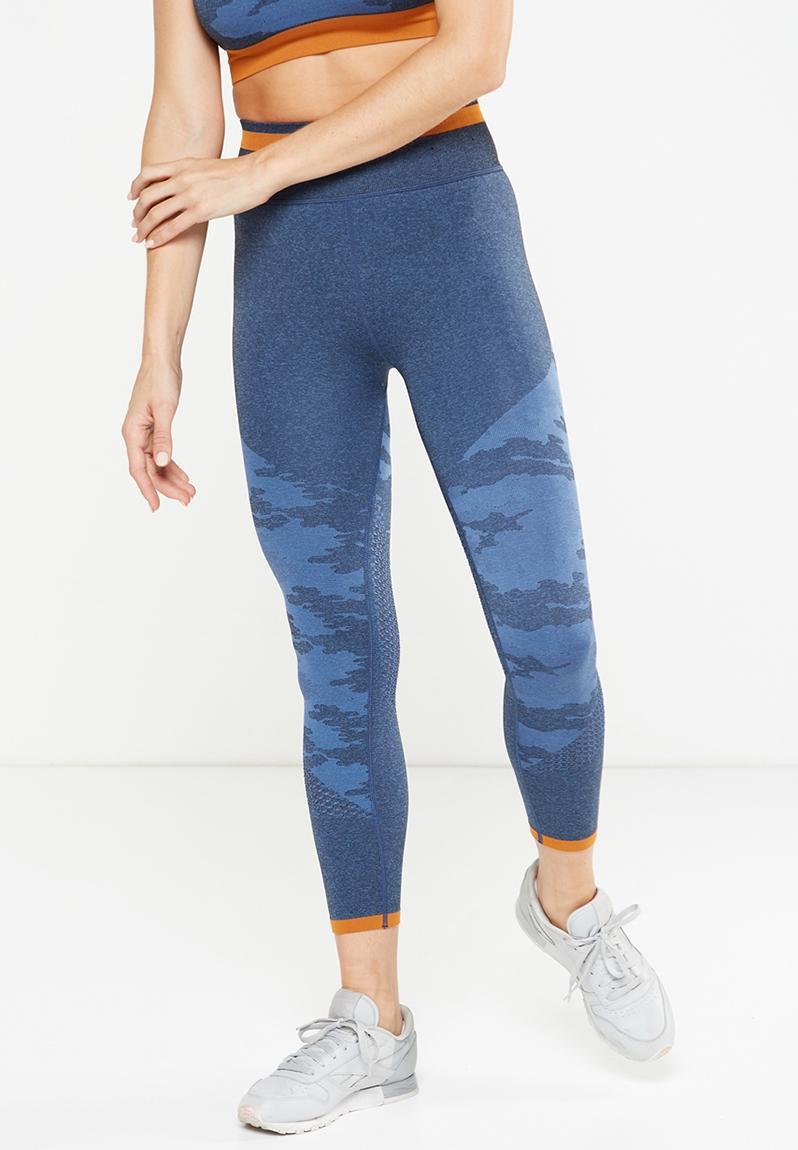 0fb32a312b769 Explorer seamfree 7/8 tights - Dark indigo/alpine blue Cotton On Bottoms    Superbalist.com