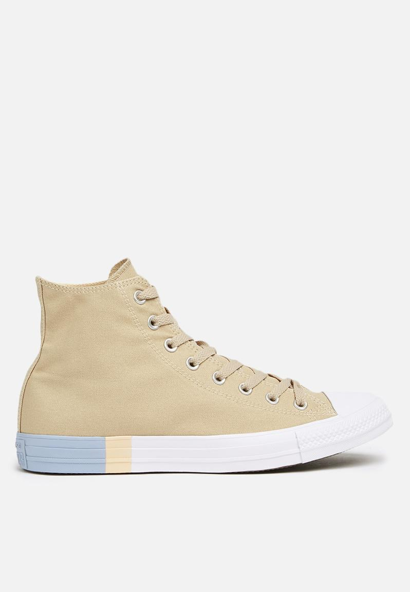 b351e2c6cd0e2a Converse CTAS HI-Tri-Block Vintage Khaki Light Twine Converse Sneakers