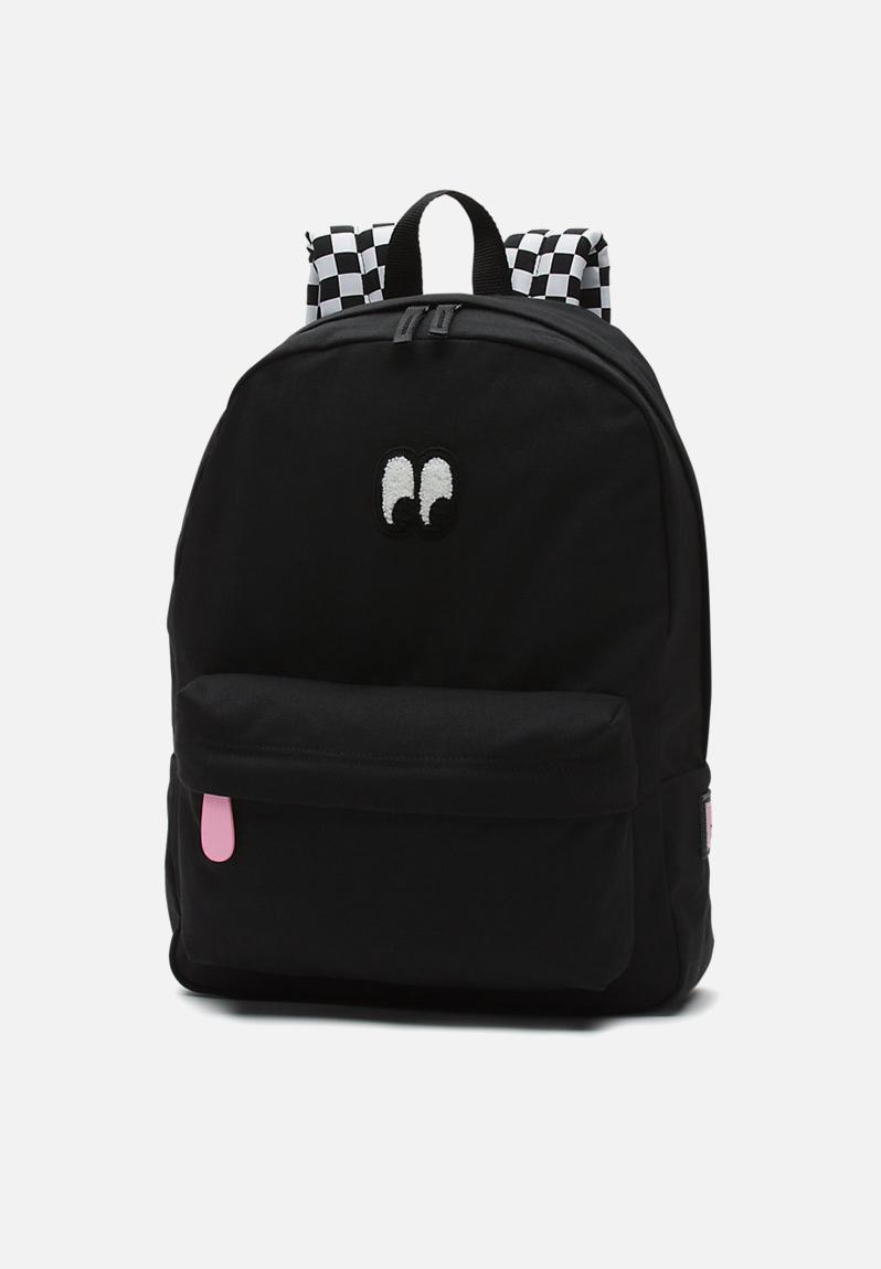 562c021b3fb Vans Pink And White Checkered Backpack | Building Materials Bargain ...
