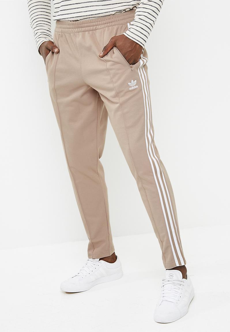 quality design 8d8aa e4abe Mens Beckenbauer TP - Vapour Stone - White adidas Originals Sweatpants   Shorts  Superbalist.com