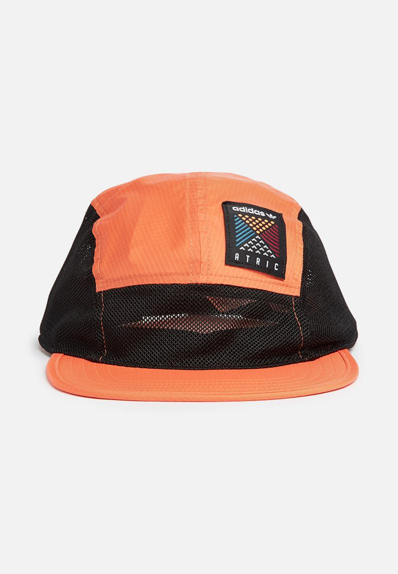 5 Panel cap - trace orange adidas Originals Headwear  67ec1abbd81