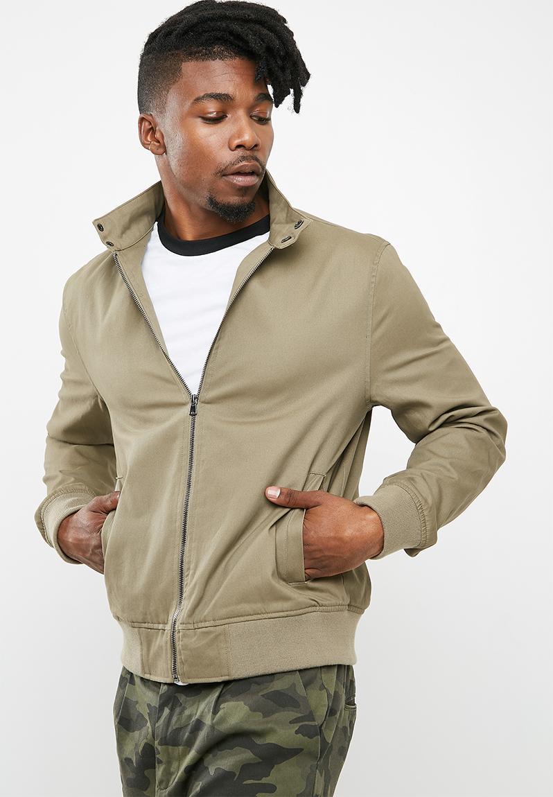 Harrington Jacket- Khaki New Look Jackets   Superbalist.com