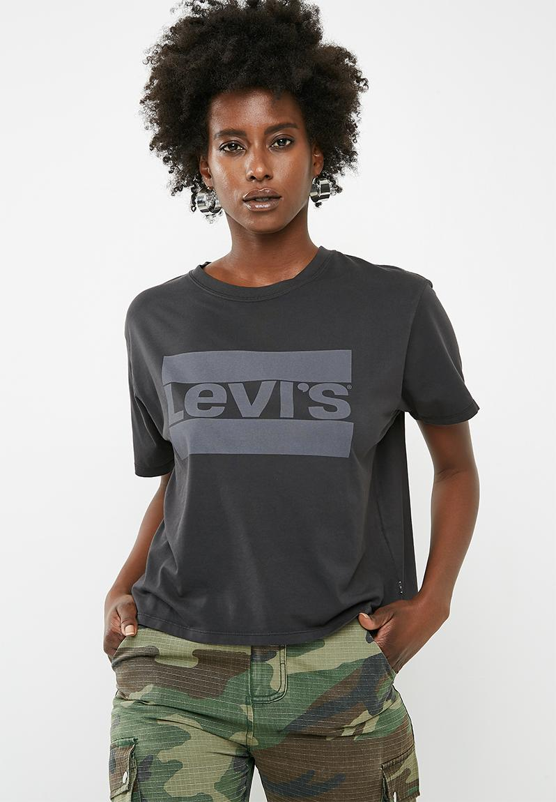 6420c3544 Graphic tee - charcoal Levi s® T-Shirts