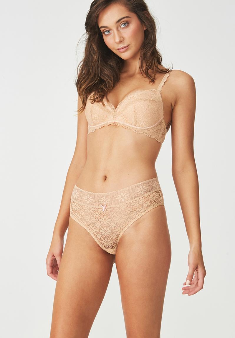 Hayley g-string brief - black Cotton On Panties