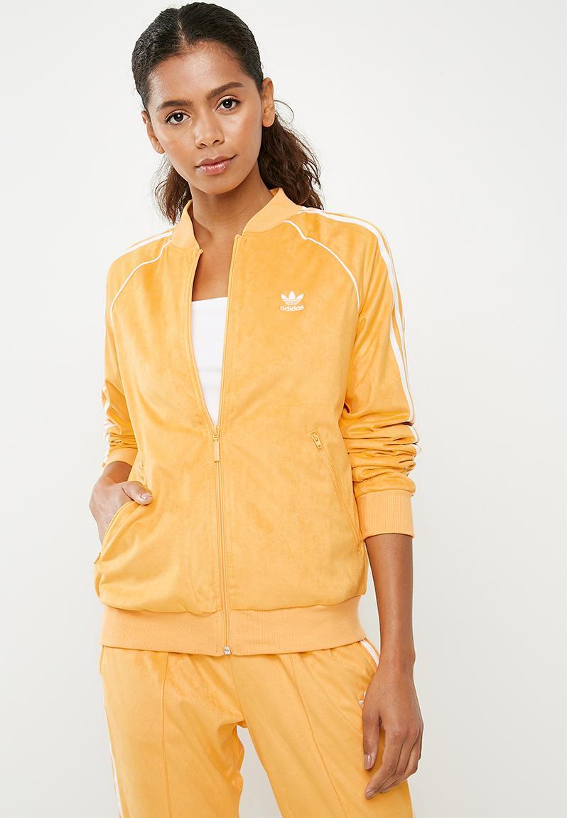 5f6ea3cb5c12f SST track jacket - Chalk orange adidas Originals Hoodies