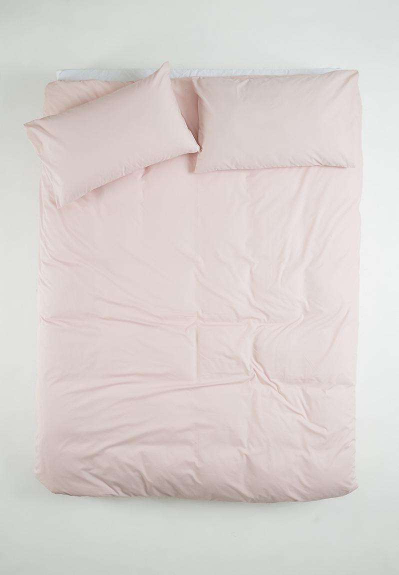 Percale Duvet Cover Dusty Pink Sixth Floor Bedding Superbalist Com