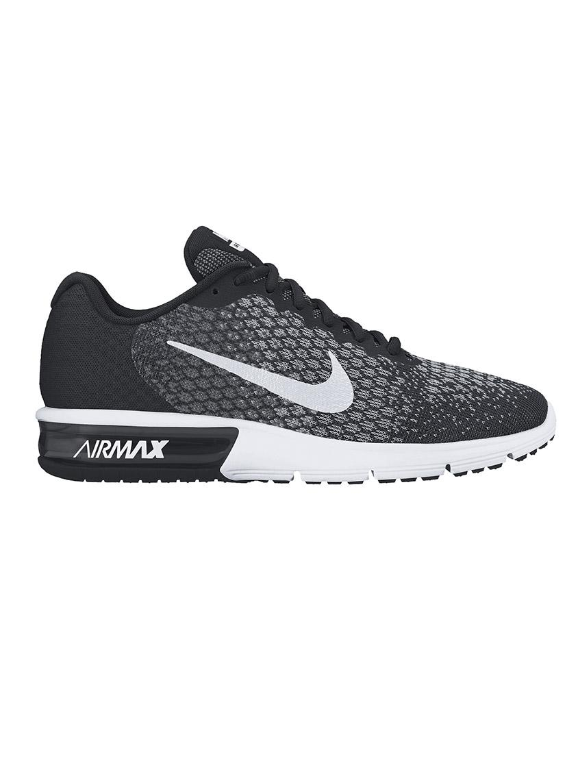 Nike Air Max Sequent 2 Sneakers Black Nike Trainers  cf7ebbf919