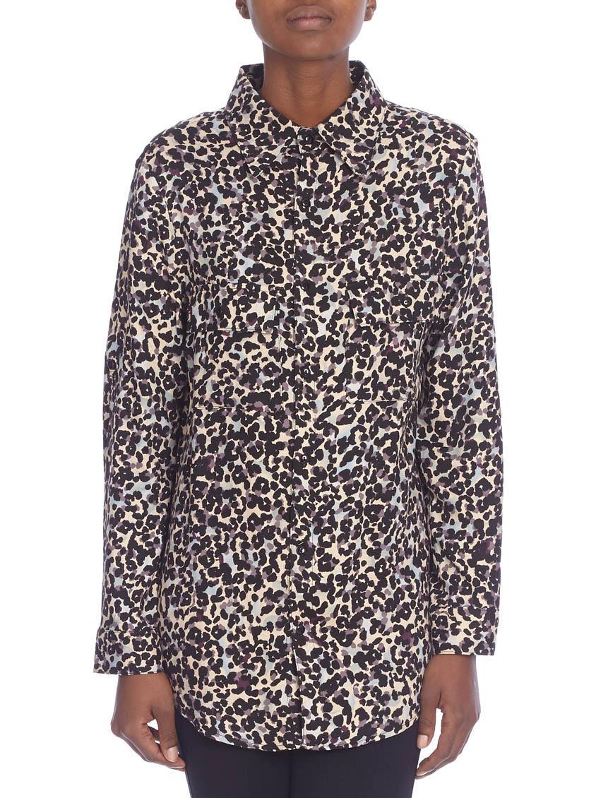 090f3df2c6 Animal-print shirt LABEL FEMME Shirts