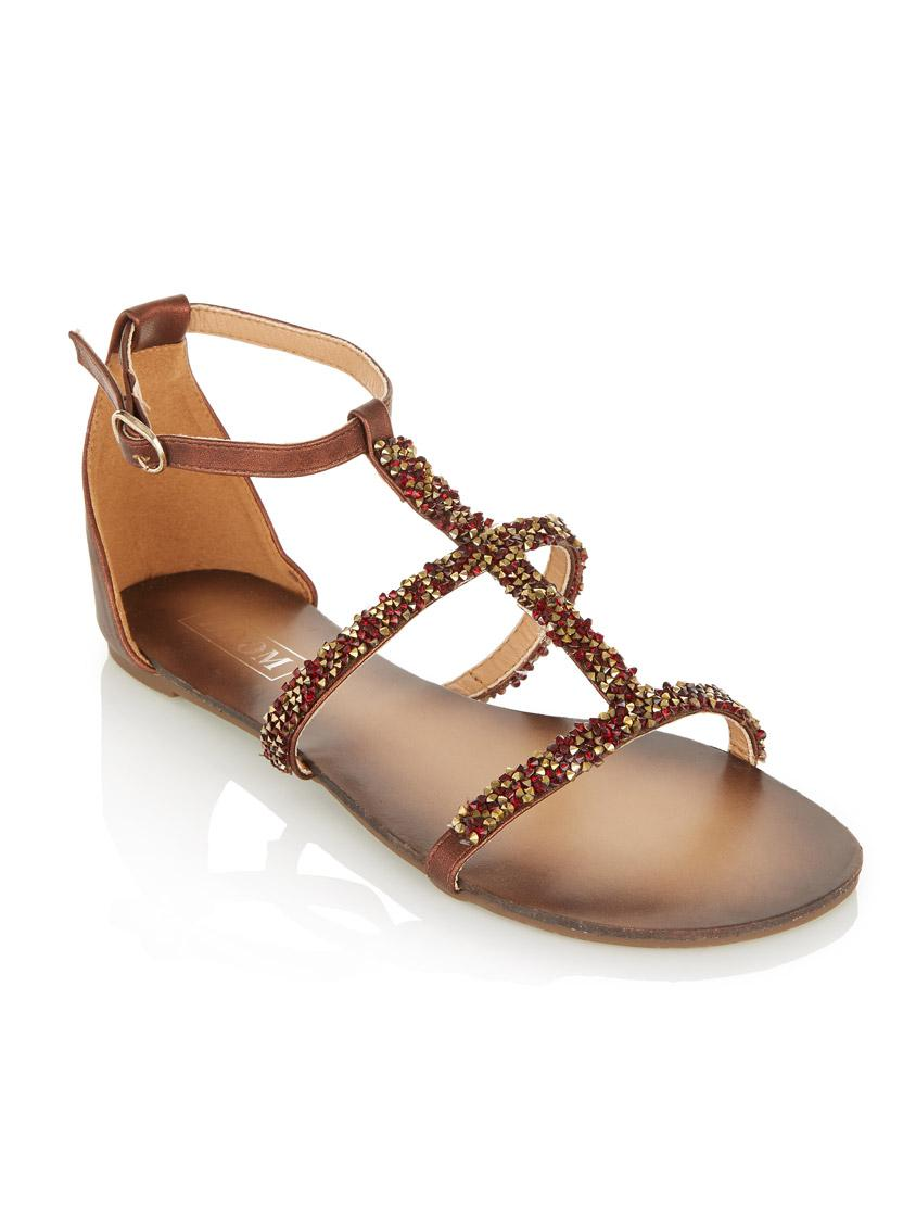 5f3d34d2e0d1 Glitter gladiator sandals brown zoom sandals flip flops jpg 844x1130 Brown  gladiator sandals