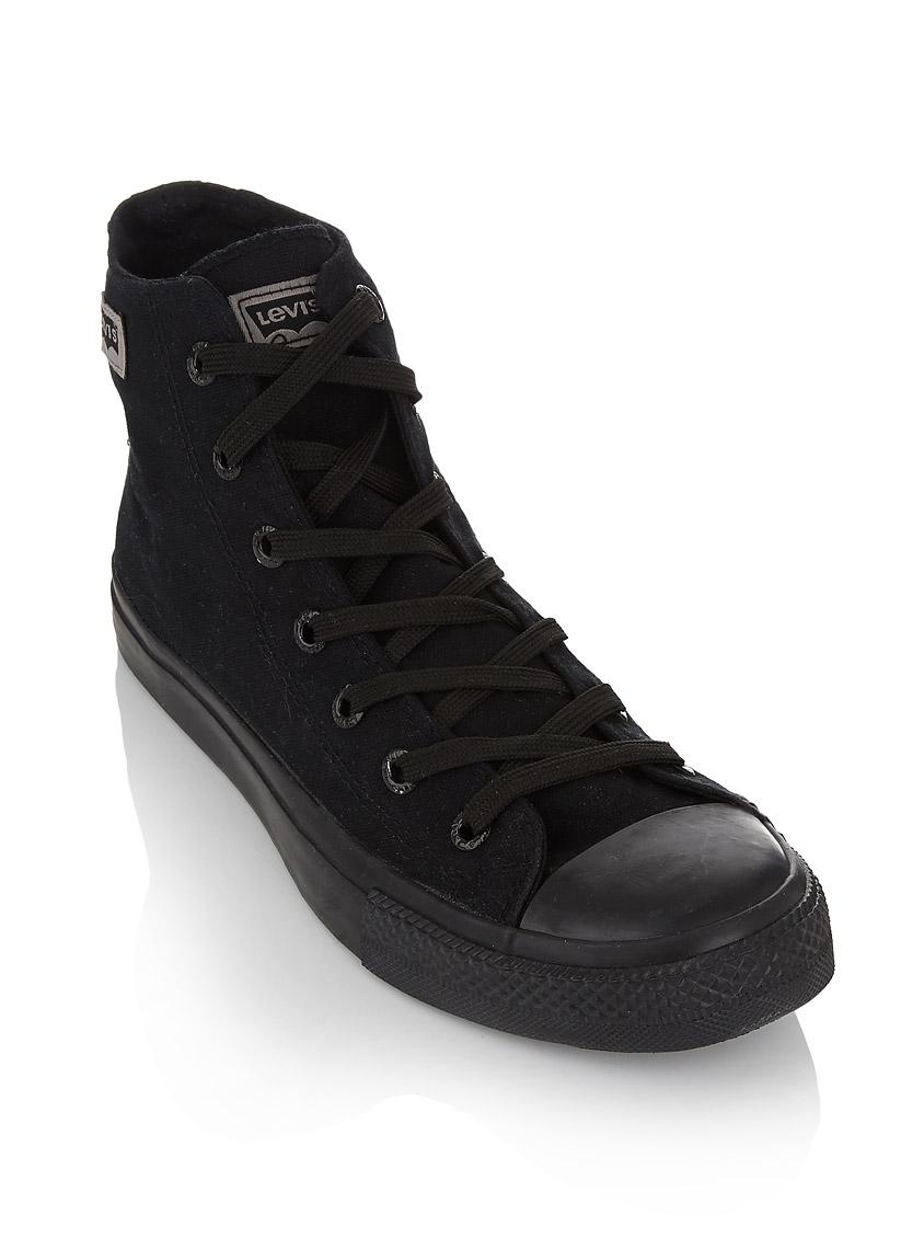 bf81e483598e Mono dunk pitch hi canvas sneakers Black Levi s® Sneakers ...