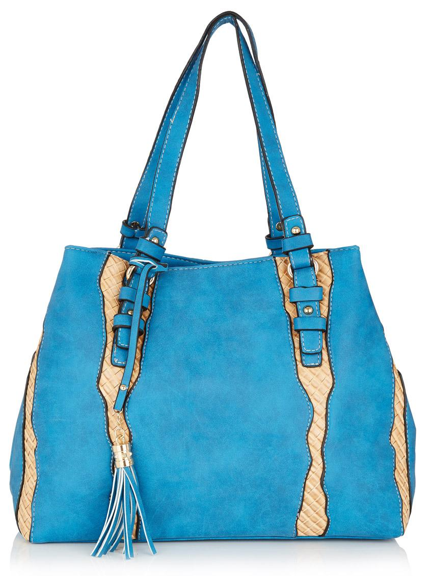 DOLCE /& GABBANA Parfums Light Blue Tote Bag Beach Bag Shopping Weekender Bag NEW