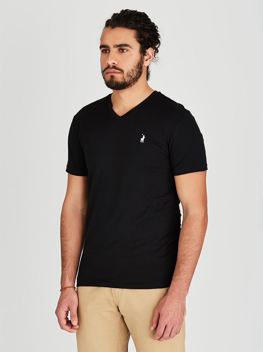 dc0895f6 Black Full Sleeve V Neck T Shirt – EDGE Engineering and Consulting ...