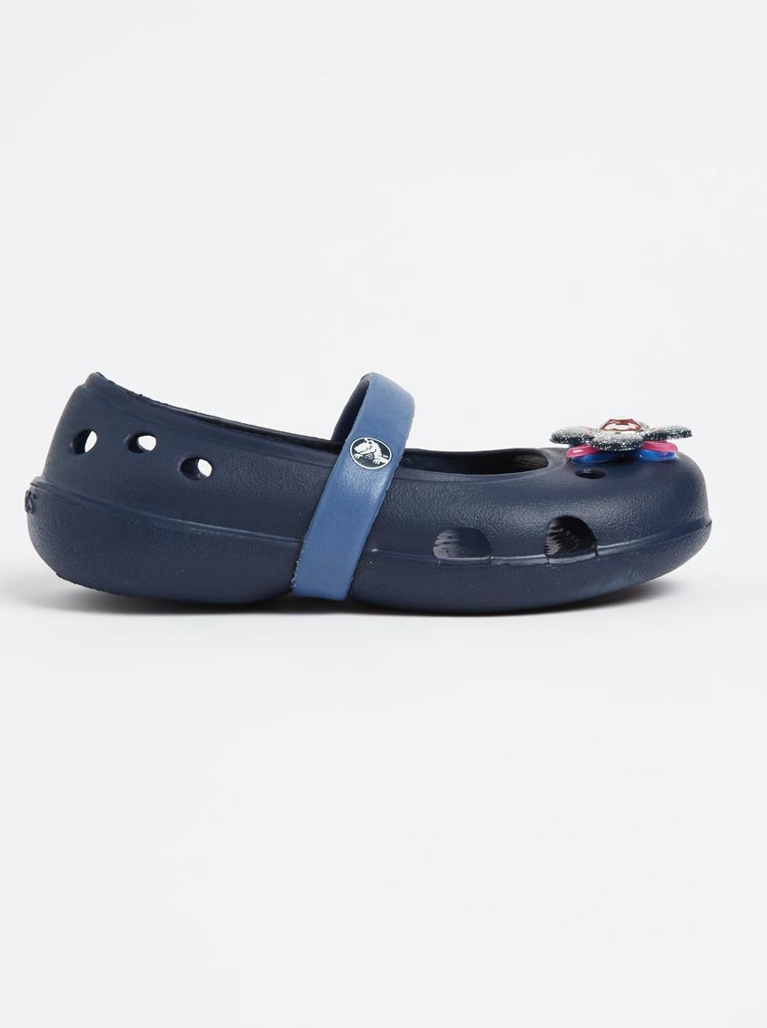 0e84e52f9 Keeley Springtime Flat Pump Navy Crocs Shoes