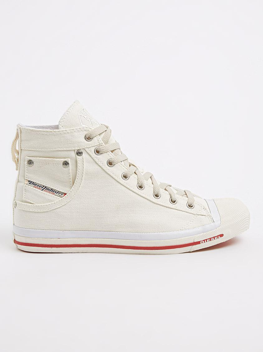 5caeda134488 Diesel Magnete Exposure Hi Canvas Sneakers Off White Diesel Sneakers ...