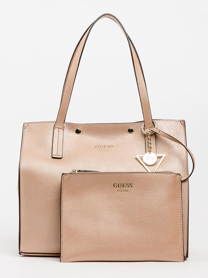 fd4ac3113d7 ... best service c2abe 4ca00 Kinley Carryall Rose gold GUESS Bags Purses  Superbalist. ...