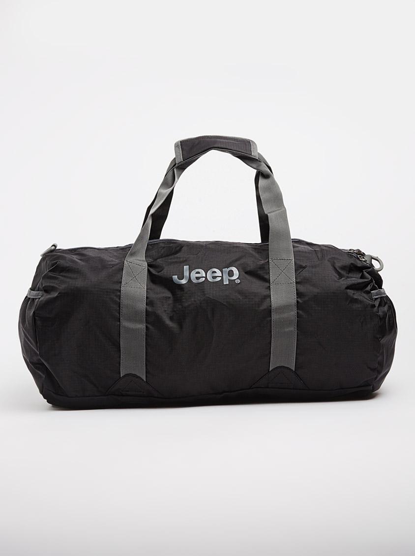 871344a45 45L Lightweight Fold Up Travel Duffel Bag Black JEEP Bags & Wallets    Superbalist.com