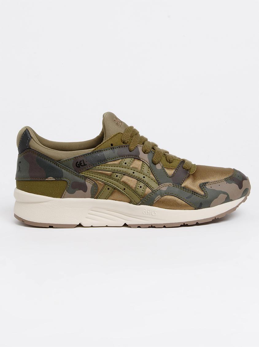 1107c40e7158 Gel -Lyte V Gs Sneaker Khaki Green Asics Tiger Shoes