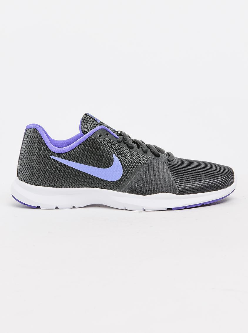 e353e5ee155aa Nike Flex Bijoux Training Sneakers Dark Purple Nike Trainers ...