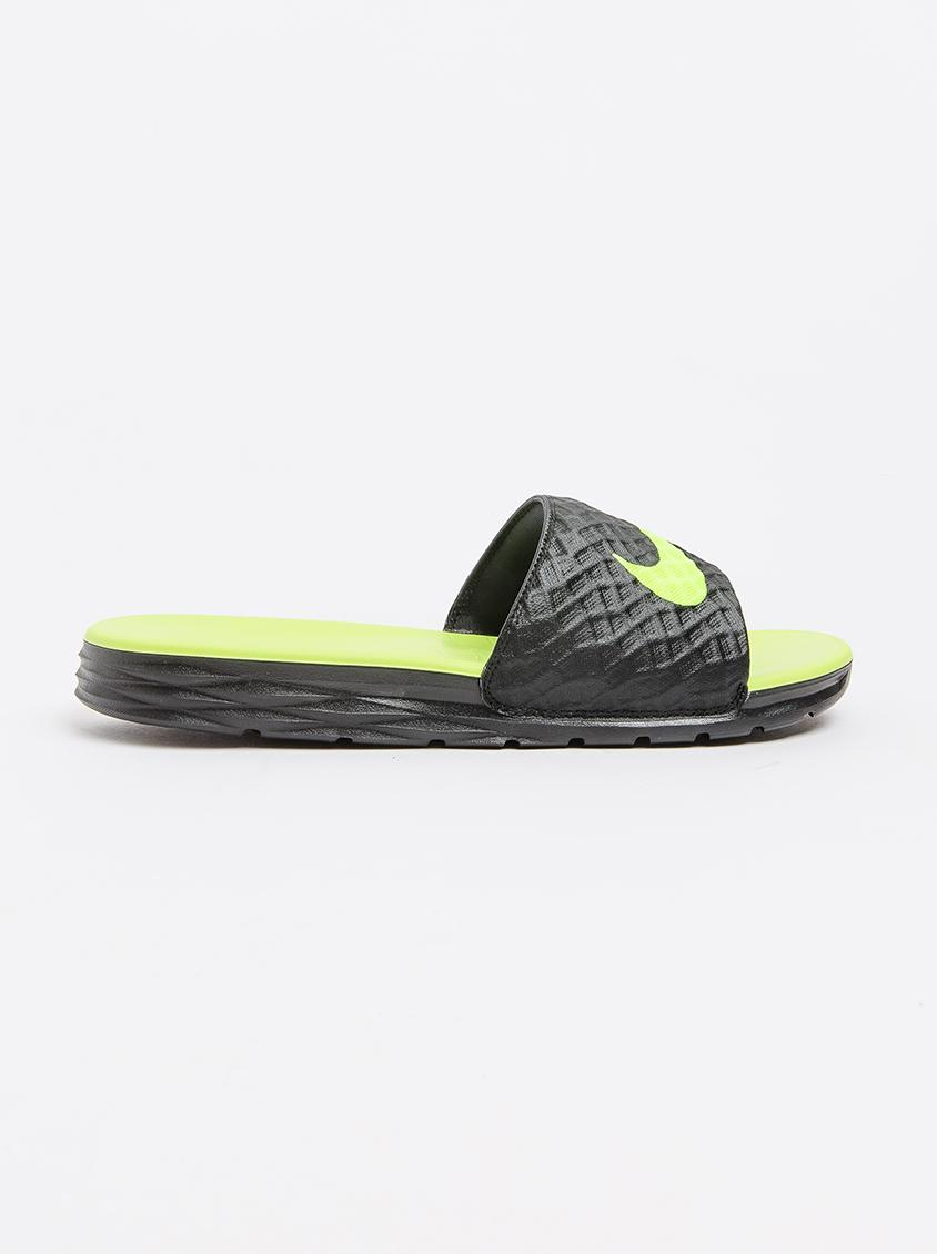 online store 4fb30 b0921 Nike Benassi Solarsoft Slide Sandal Black Nike Sandals   Flip Flops    Superbalist.com