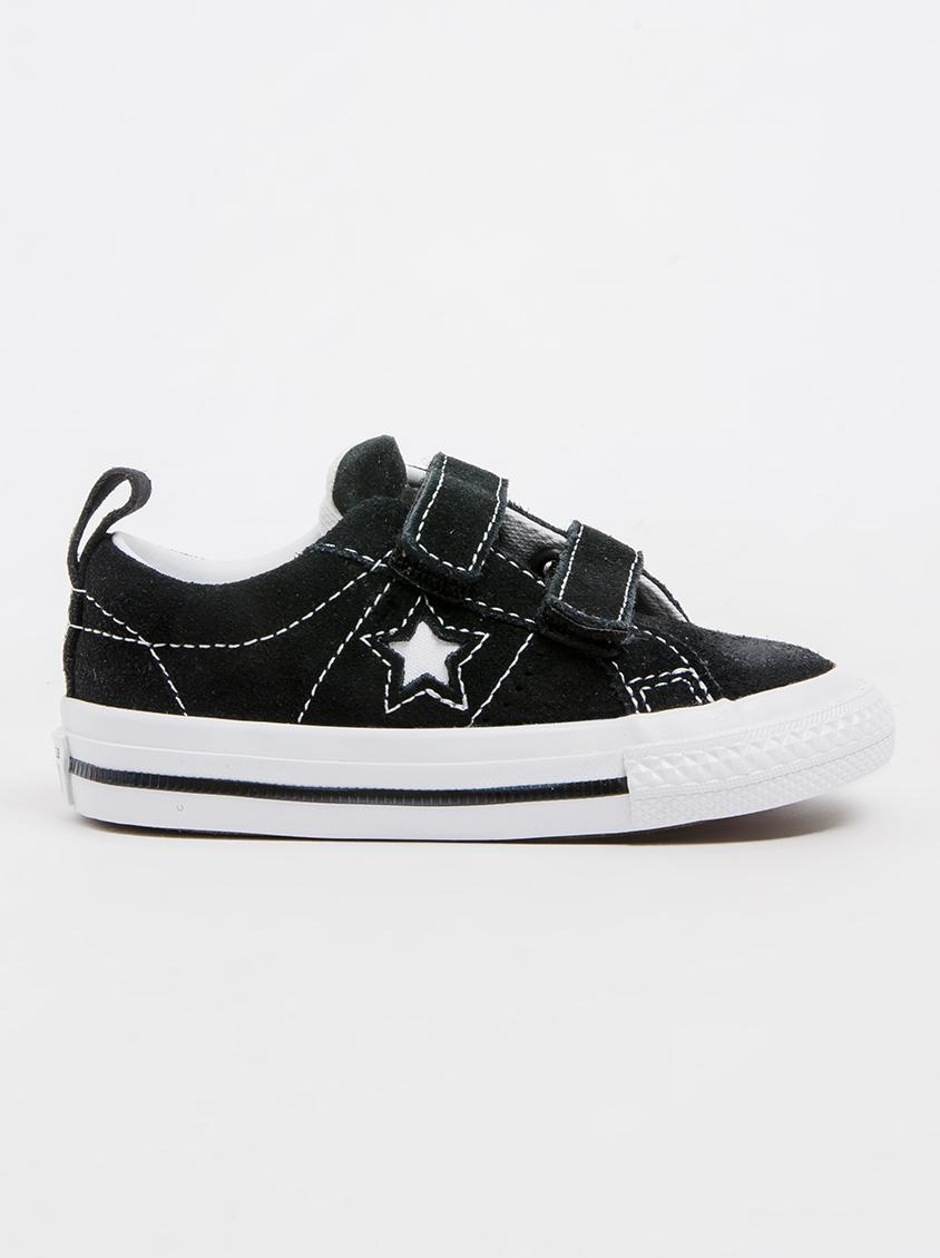 ff500833305838 One Star OX Sneaker Black Converse Shoes