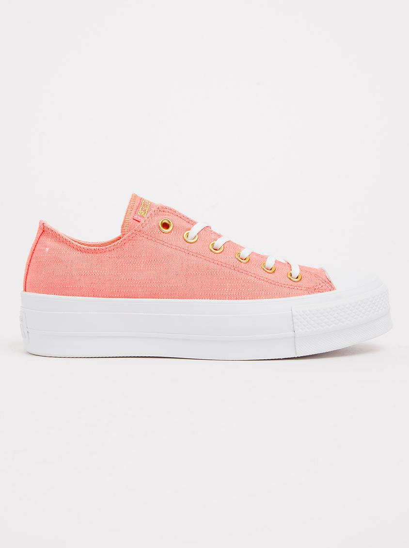 9034654bed06 Chuck Taylor All Star Lift Sneakers Pale Pink Converse Sneakers ...