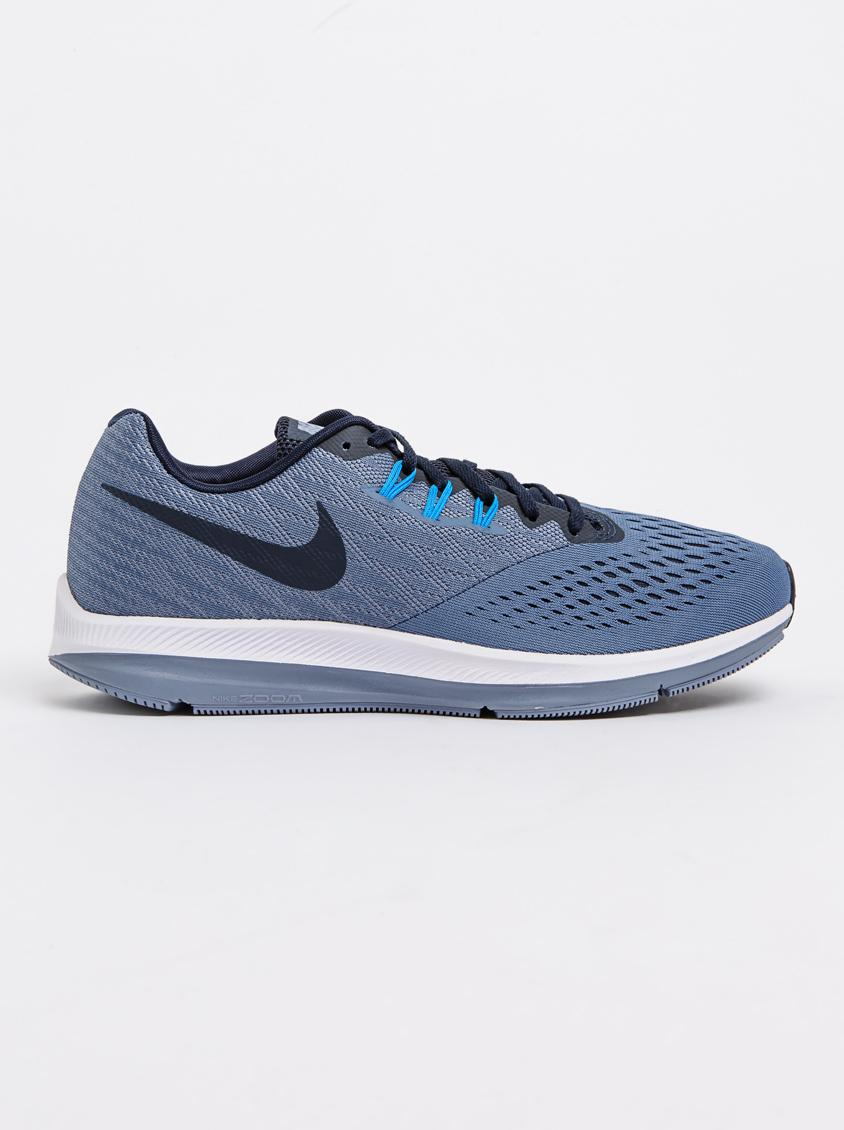 a9099753844 Nike Air Zoom Winflo 4 Runners Mid Blue Nike Trainers