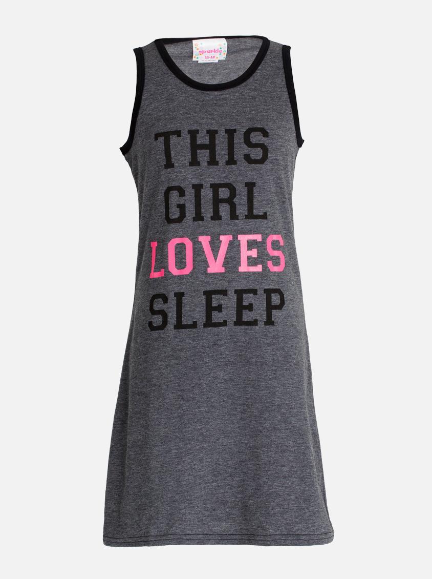 529e81a5a5ff Love Sleep Night Dress Grey Twin Clothing Sleepwear   Underwear ...