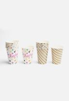 In Good Company - Be Happy Cups