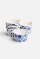 In Good Company - Blue Porcelain Picnic Bowls