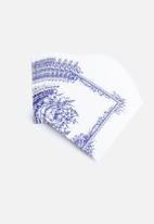 In Good Company - Blue Porcelain Picnic Napkins