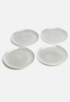 Urchin Art - Set of 4 Dinner Plates