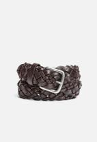 Selected Homme - Sheldon Leather Belt
